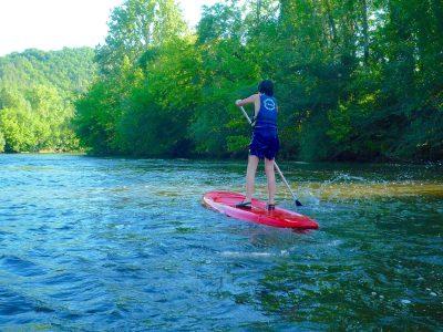 Stand Up Paddle en Dordogne