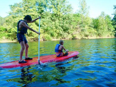 Stand up paddle, Dordogne