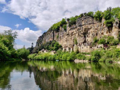 La Roque Gageac, rivier de Dordogne