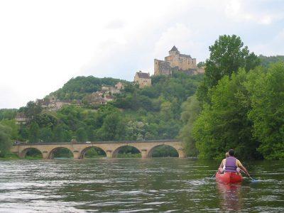 kano - kajak, Dordogne