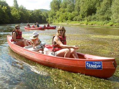 Canoeing Le Moustier - Le Bugue
