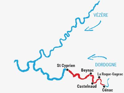 Cénac ➤ St Cyprien