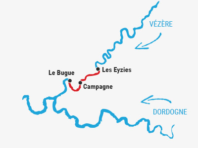 Les Eyzies ➤ Le Bugue