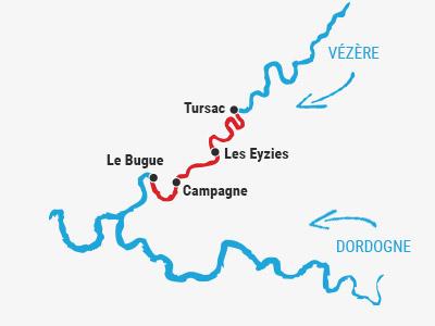Tursac ➤ Le Bugue