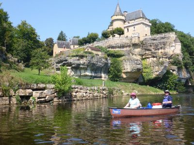 2 days canoeing on the Vézère