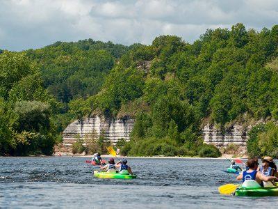 Kayak Bac de Sors, Dordogne
