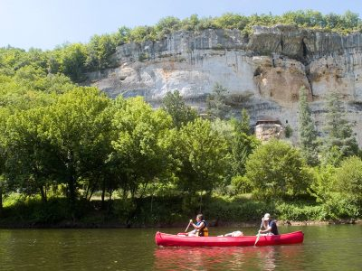 2 days canoeing Les Eyzies - Vezere valley