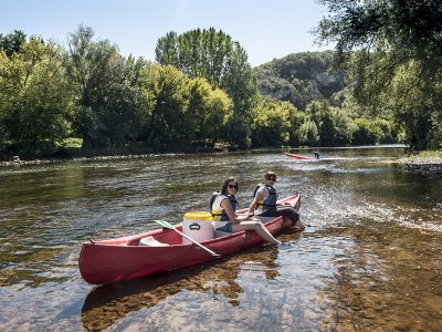 3 days canoe trip on the Vézère and the Dordogne