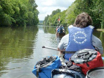 2 days canoe trip Vézère/Dordogne